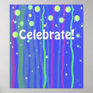 ¡Celebre! poster Póster