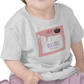 Celebre real a princesa Birthday de la papá de Nan Camisetas
