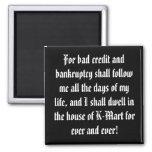 ¡Celebre su deuda! Imanes Para Frigoríficos
