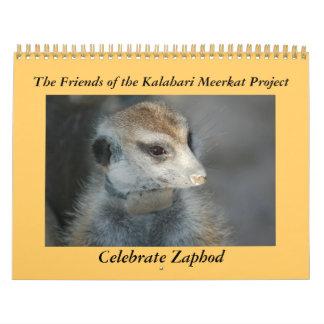 Celebre Zaphod - calendario