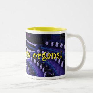 Celebremos los órganos - taza púrpura