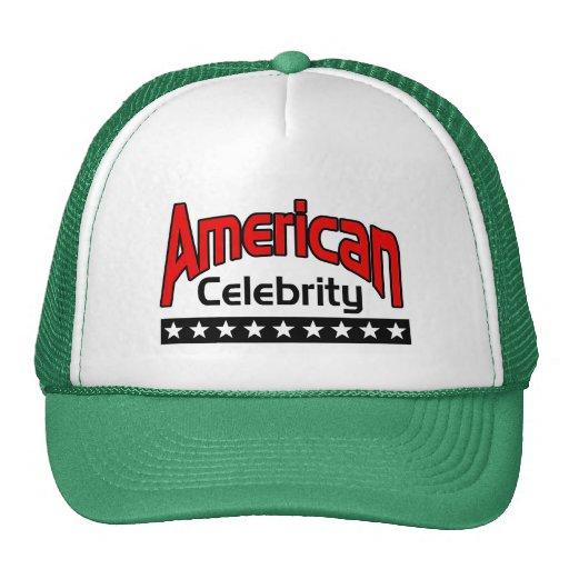 Celebridad americana gorros