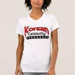 Celebridad coreana camiseta