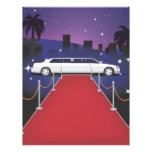 Celebridad de la alfombra roja tarjeta publicitaria