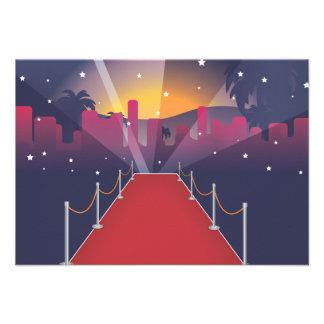 Celebridad de la alfombra roja comunicados personales