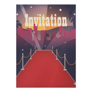 Celebridad de la alfombra roja comunicados personalizados