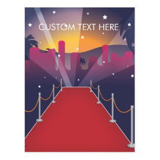 Celebridad de la alfombra roja postales