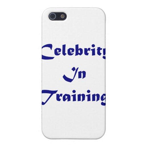 Celebridad en el entrenamiento iPhone 5 carcasa