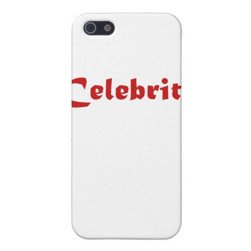 Celebridad iPhone 5 Protector