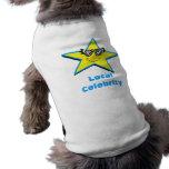 Celebridad local camiseta de perrito