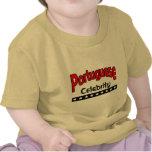Celebridad portuguesa camiseta