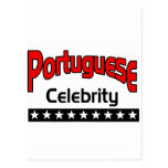 Celebridad portuguesa postal