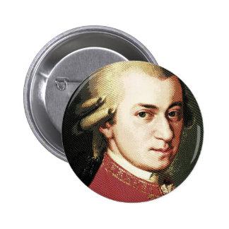 celebridades Wolfgang Amadeus Mozart Pins