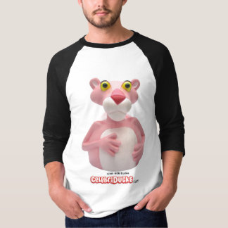 CelebriDucks Pink Panther Rubber Duck Tshirts