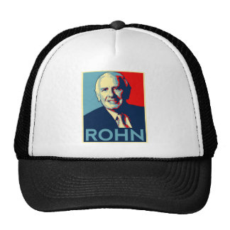 celebrities  jim rohn mesh hat