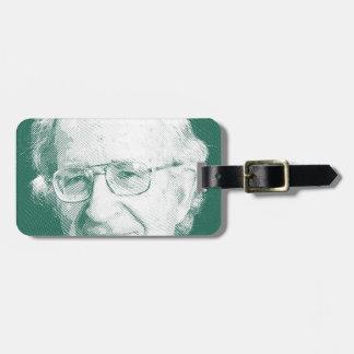 celebrities  noam chomsky 2 bag tag