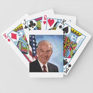 celebrities ron paul card decks
