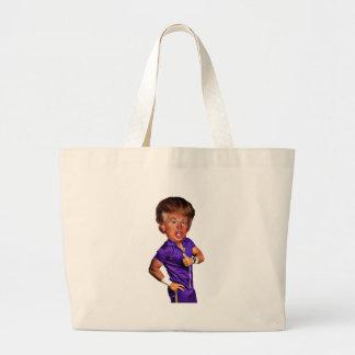 celebrity-9868-trump large tote bag