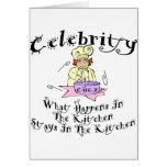 Celebrity Chef Cards