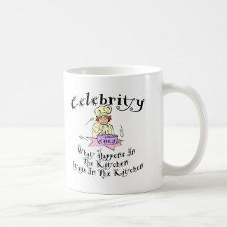 Celebrity Chef Classic White Coffee Mug