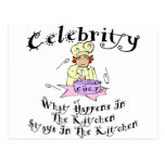 Celebrity Chef Post Cards