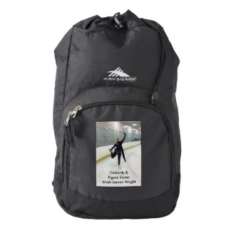 Celebrity & Figure Skater Ishah Laurah Wright 2016 High Sierra Backpack