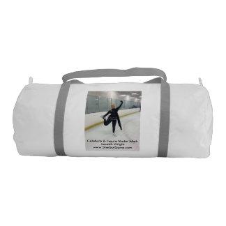 Celebrity & Figure Skater Ishah Laurah Wright Gym Bag