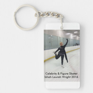 Celebrity & Figure Skater Ishah Laurah Wright Keychain