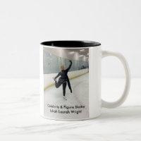 Celebrity & Figure Skater Ishah Laurah Wright Two-Tone Coffee Mug