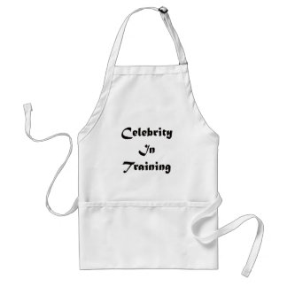 Celebrity In Training Adult Apron