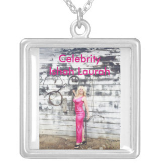 Celebrity Ishah Laurah Silver Plated Necklace