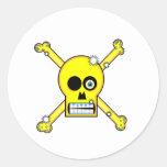 celebrity kills. round sticker