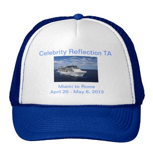 Celebrity Reflection Hat in Blue