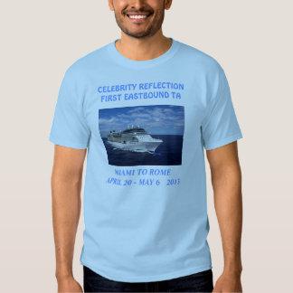 Celebrity Reflection TA Blue T-shirt