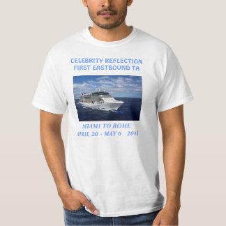 Celebrity Reflection TA white Tee Shirt