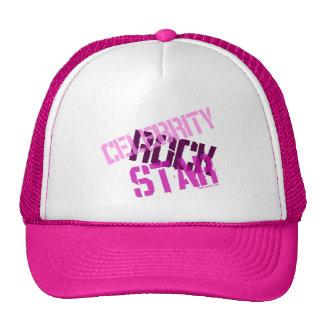 Celebrity Rock Star Pink Mesh Cap