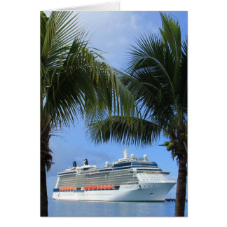 Celebrity Silhouette Cruise to Paradise Stationery Note Card