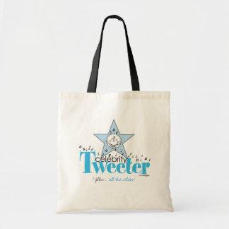 Celebrity Tweeter fan bag