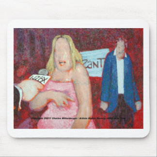 Celebrity Zombie Fundraiser Mouse Pad