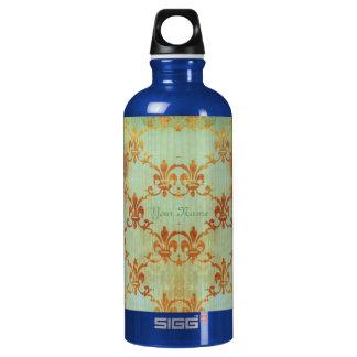 Celedon And Sienna Fleur Aluminum Water Bottle