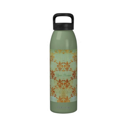 Celedon And Sienna Fleur Water Bottle