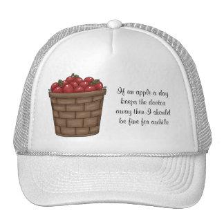 Celemín de gorra de las manzanas