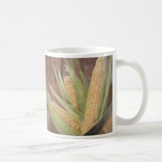 Celemín de maíz taza de café