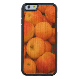 Celemín de manzanas deliciosas funda de iPhone 6 bumper cerezo