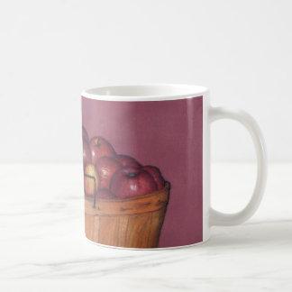 celemín de taza de las manzanas