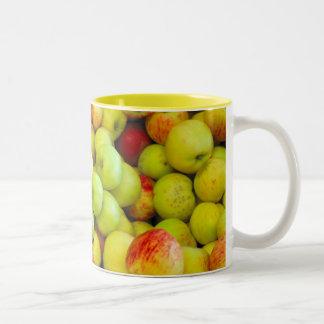 Celemines de manzanas tazas de café