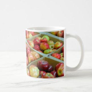 Celemines de manzanas taza de café