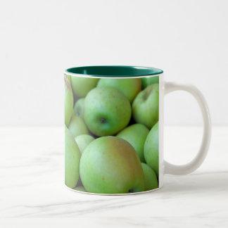 Celemines de manzanas taza de dos tonos