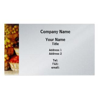 Celemines de sabor tarjeta de visita