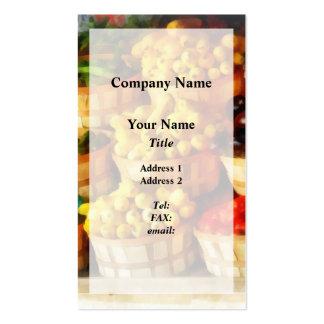 Celemines de sabor plantillas de tarjeta de negocio